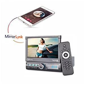 single din car stereo with mirror link
