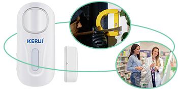 remote door alarm and wireless doorbell