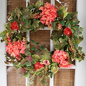 If You Are Looking For A Beautiful Wreath That Will Give Your Front Door  Extra Curb Appeal For Spring And Summer, Then This Is The Wreath For YOU!