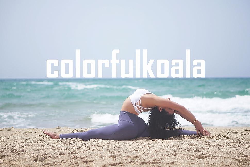 Amazon.com: Colorfulkoala - Leggings de yoga para mujer ...