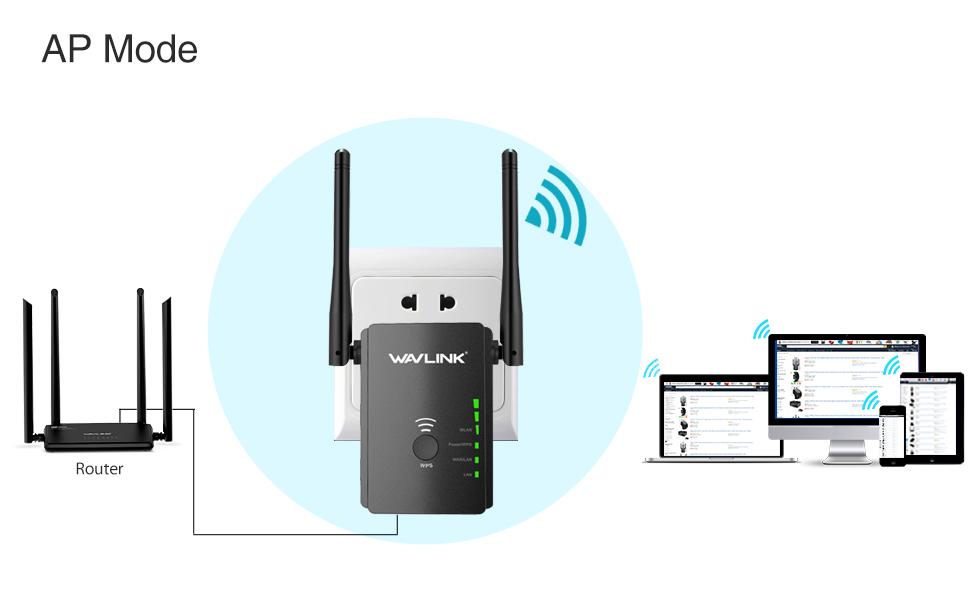 Amazon.com: WiFi Extender, 300Mbps de alta potencia ...