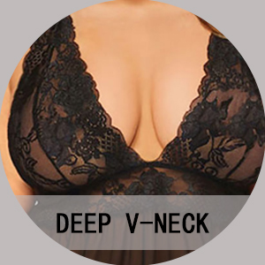 V Neck Nightwear