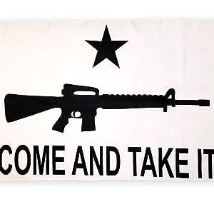 come and take it gun flag