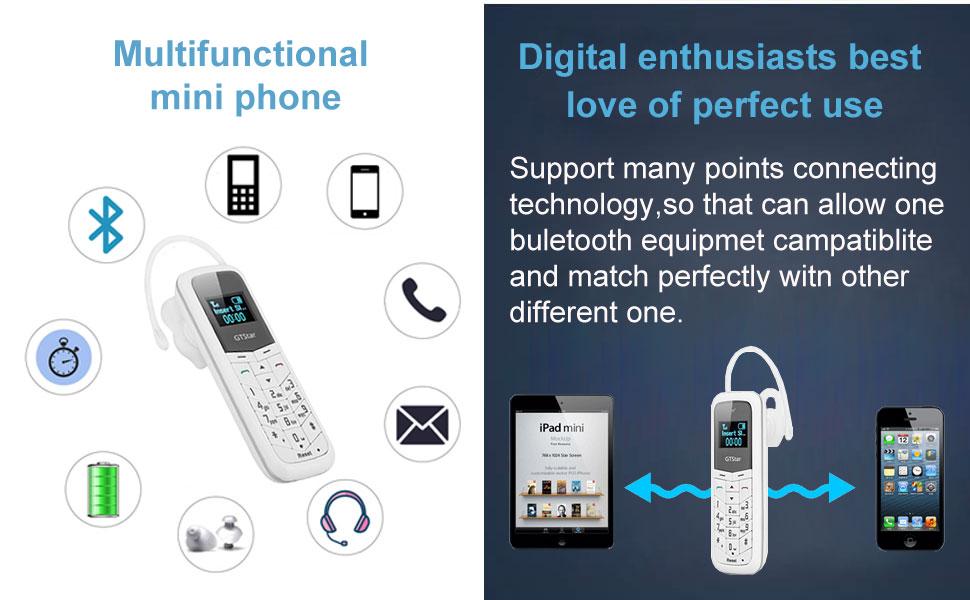 world's smallest mini phone