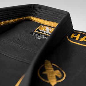 Hayabusa Black/Gold Lightweight Gi