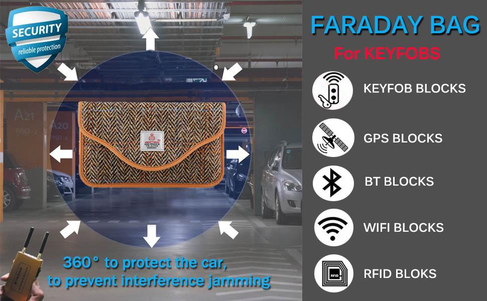 Amazon.com: Faraday - Funda para llave de coche con ...