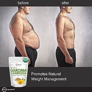 Amazon Com Organic Garcinia Cambogia Weight Loss Powder 1 Pound
