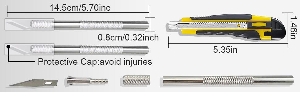 Amazon.com: 105 cuchillos de precisión para manualidades ...