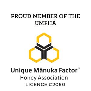 Member of the Unique Manuka Factor Honey Association