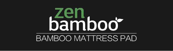 zen bamboo mattress pad