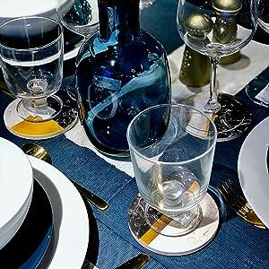 coasters coaster table for coffee stone set letter mug drink cork cup ceramic glass art tea decor