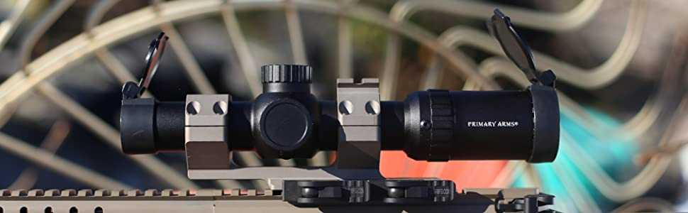 Primary Arms 1-8x24 SFP Rifle Scope Illuminated ACSS 5.56 5.45 .308 Reticle Lifestyle