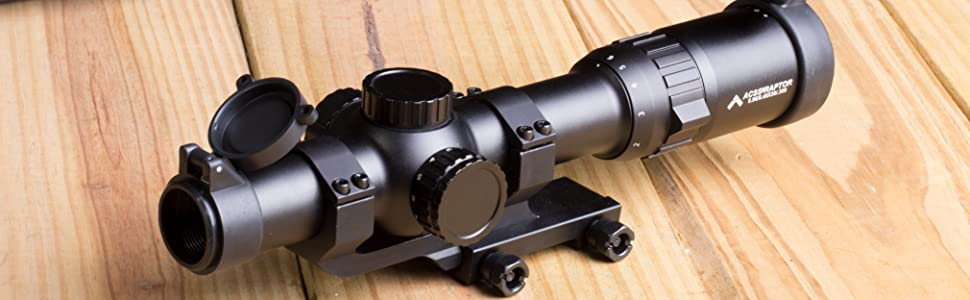 Primary Arms Silver Series 1-6x24 FFP Rifle Scope ACSS Raptor 5.56 .308 Reticle Lifestyle