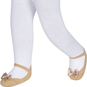 11c22415a5de72 Baby Emporio tights that look like shoes leggings sparkle metallic special  occasion glitter warm
