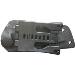 high-strength lightweight Kydex material sheath for easy portability.