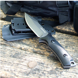 elemental self defense weapons survival tactical cold steel knives with glass breaker and sheath