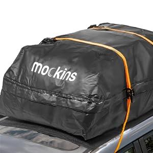 roof bag set on car