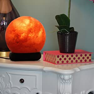bedroom salt lamp