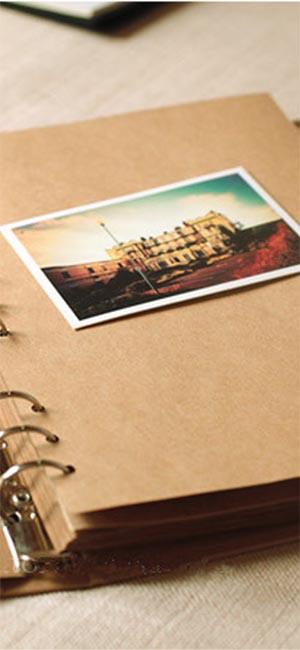 Olight Journal Notebook Notepad Sketchbook EDC en daim vert