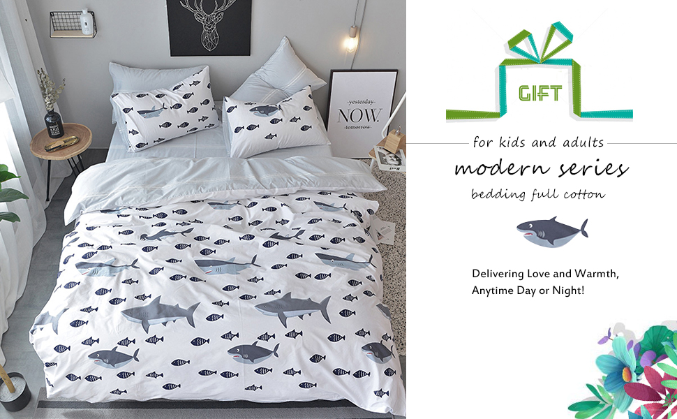 BuLuTu Duvet Cover Sets Are Available For Both Teen Girls ,boys And Adults.  Simple Style Or Cartoon Pattern Brings Greater Fun To You Or Your Lovely  Kids.