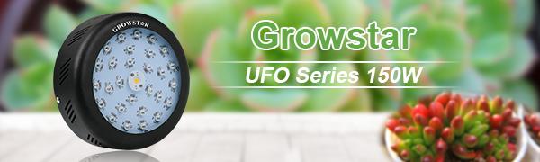 ufo 150w led grow light
