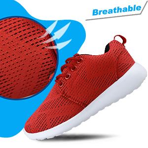 Hawkwell Boys Girls Running Shoes Mesh Athletic Lightweight Easy Walking Sneakers