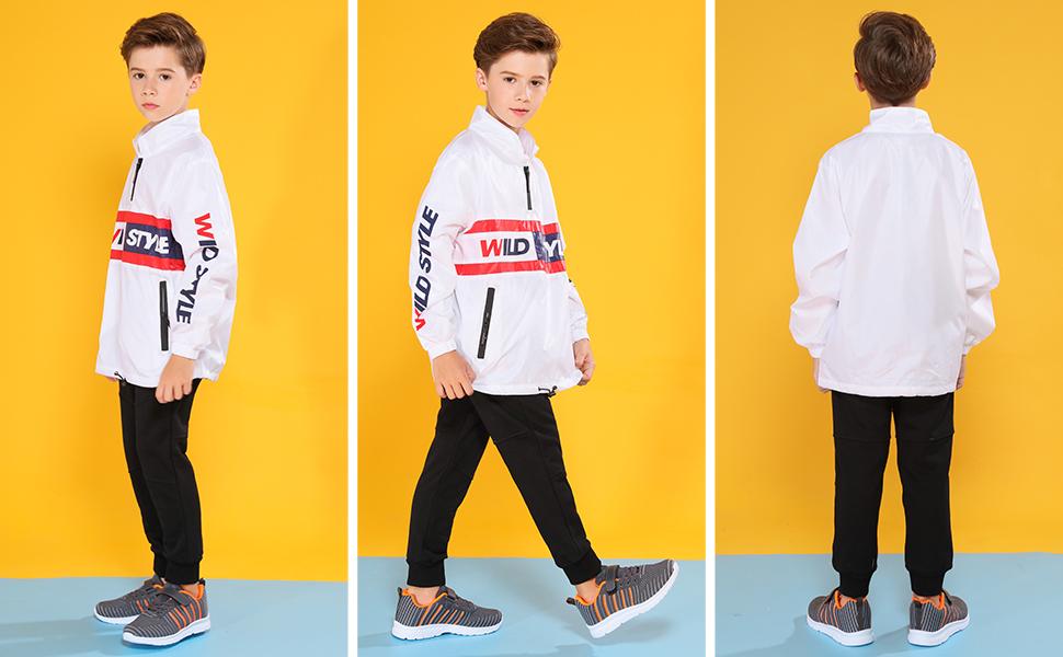 Hawkwell Kids Running Shoes Boys Girls Breathable Lightweight Walking Sneaker (Toddler/Little Kid)
