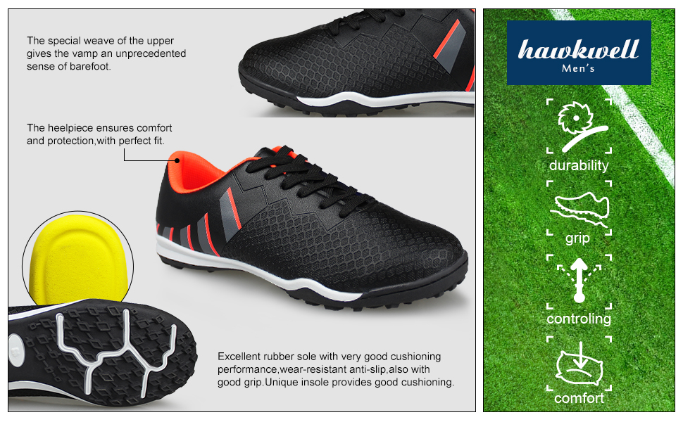 Hawkwell men's soccer shoes