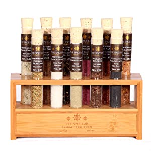 The Gourmet Salt Collection Includes 11 Of The Best Tasting Hard To Find  Salts, They Are Housed In The Best Pyrex Test Tubes With All Natural Cork  Stoppers.