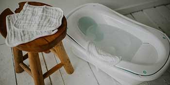 Soft muslin cotton newborn and baby washcloths