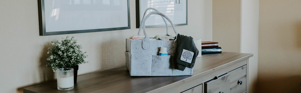 Diaper Caddy from Parker Baby Co