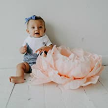 Baby Bandana Bibs with adjustable snaps