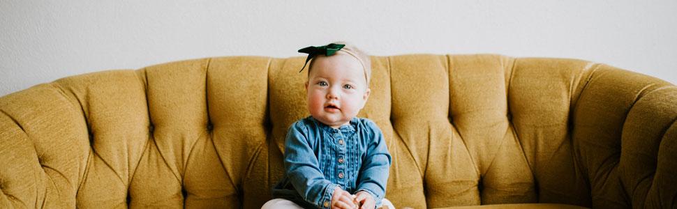 94af92af2 Amazon.com  Parker Baby Girl Headbands and Bows