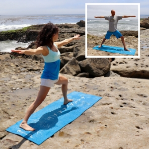 yoga mat for any height