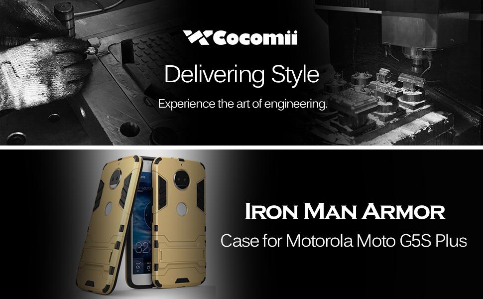 Motorola Moto G5S Plus / G6 Plus Case Iron Man Armor