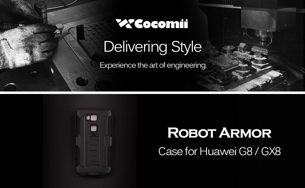 Huawei G8 / GX8 מקרה רובוט Armor