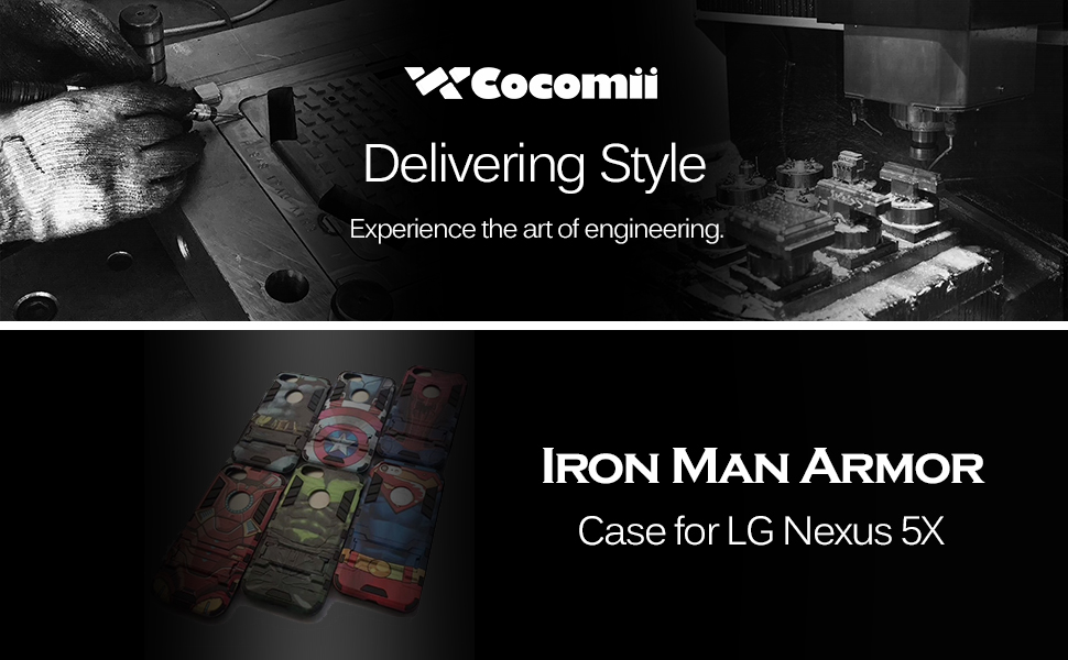 Amazon.com: LG Nexus 5 X Carcasa, Cocomii Iron Man Armadura ...