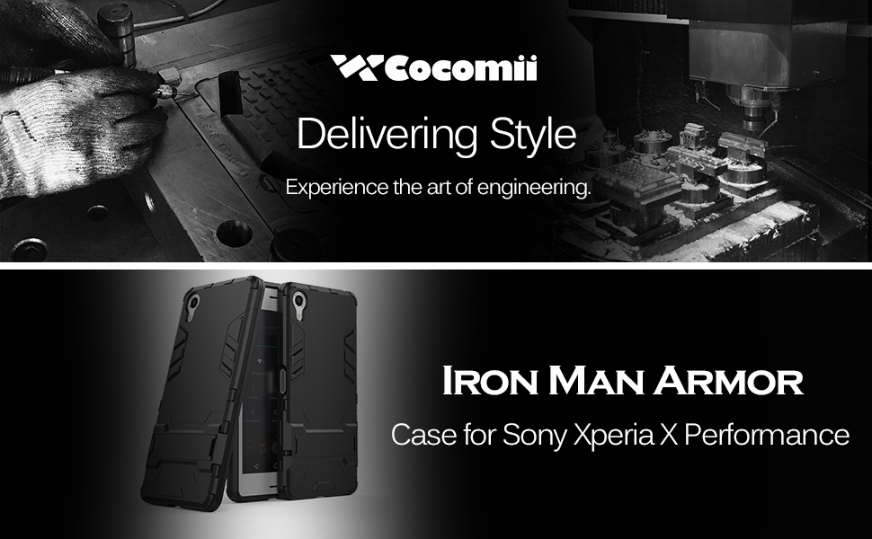 Sony Xperia X Performance Case Iron Man Armor