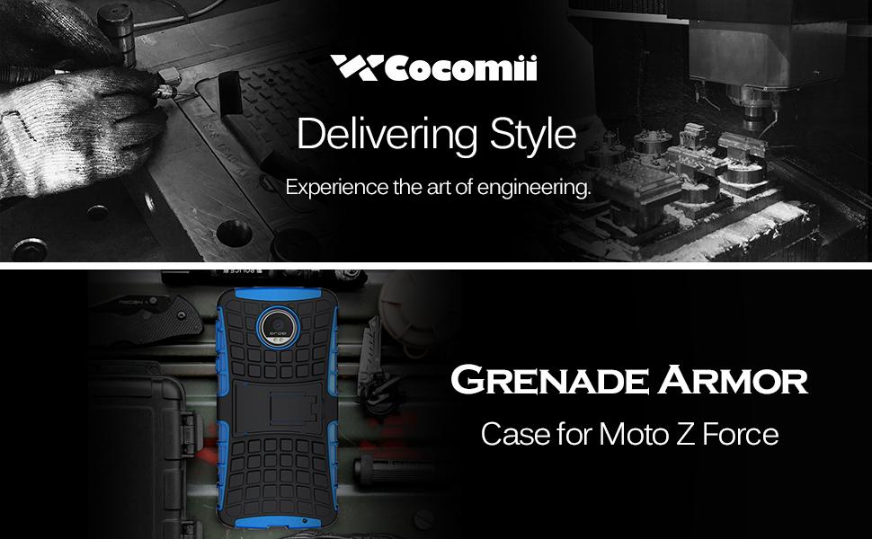 Motorola Moto Z Force/Z Force Droid Case Grenade Armor