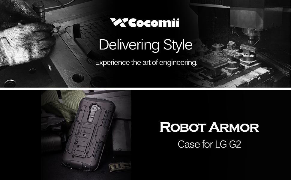Amazon.com: LG G2 Case, Cocomii Robot Armor NEW [Heavy Duty ...