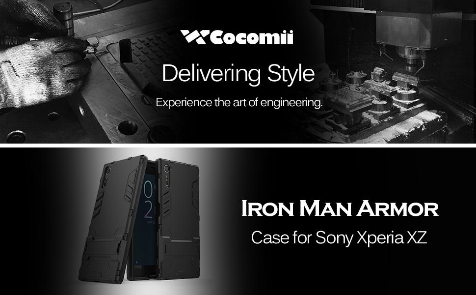 Sony Xperia XZ Case Iron Man Armor