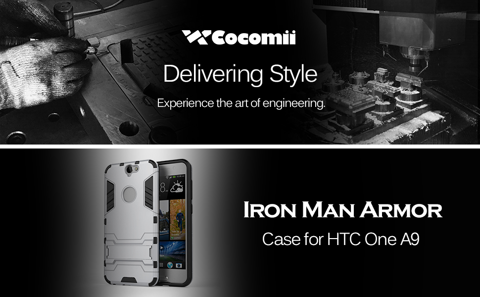 HTC One A9 Case Iron Man Armor