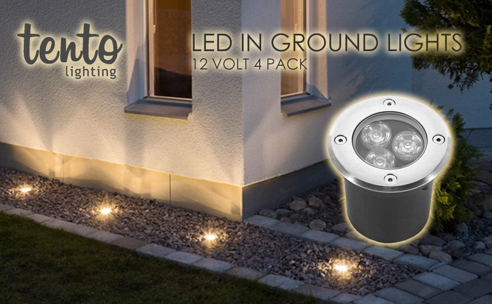 Solar Garden Lights Color Changing  Lamp Garden Decor Landscape Lighting F9C8