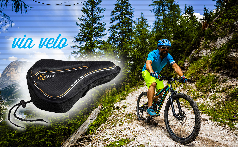 SUNLITE ROAD TOURING MOUNTAIN BICYCLE BIKE LYCRA SADDLE SEAT COVER NEW