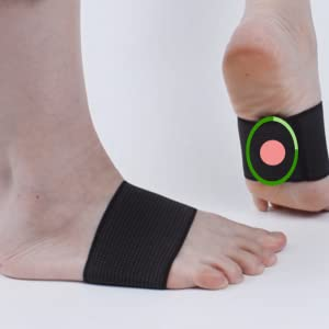 Magnetic Therapy Arch Support Plantar Fasciitis Brace