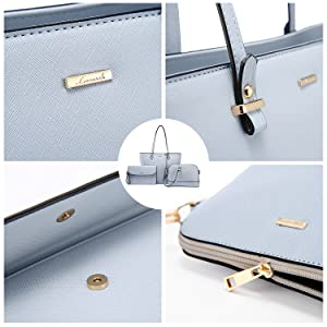 High quality  pu leather with durable gold hardware. Detailed stitching with smoothly zippers.
