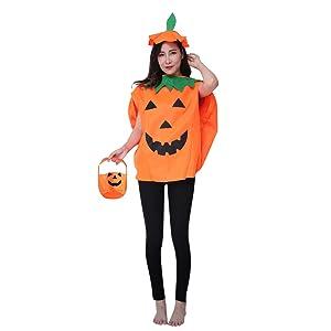Adults pumpkin custome