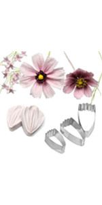 Coreopsis Daisy vein molds and cutters