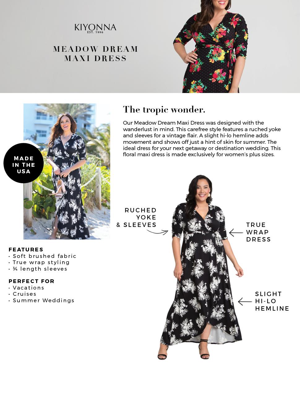 64c2bb3a348b5 Kiyonna Women s Plus Size Meadow Dream Maxi Dress at Amazon Women s ...