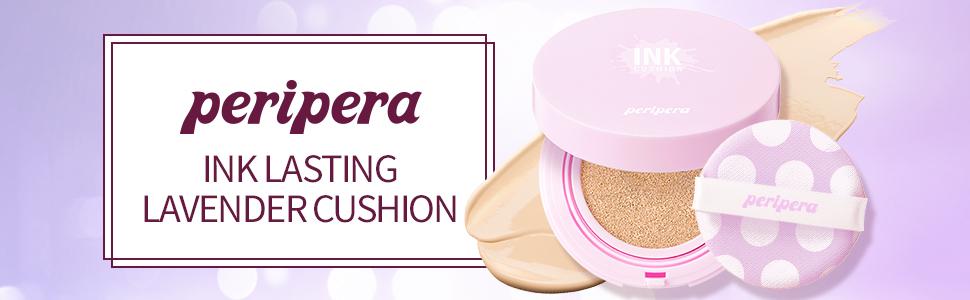Peripera Inklasting Lavender Cushion 0.5 Ounce 002 Beige